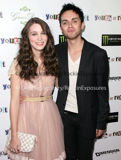 Rooney Mara & Thomas Dekker at The Weinstein Company Film premiere of ''Youth In Revolt'' held at The Mann Chinese 6 Theatre in Hollywood, California on January 06,2010                                                                   Copyright 2009  DVS / RockinExposures