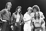 Journey 1981 Jonathan Cain, Steve Perry, Ross Valory,Neal Schon, Steve Smith.© Chris Walter.