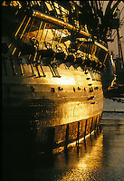 USS Constitution, Old Ironsides, guns, Freedom Trail, Boston, MA