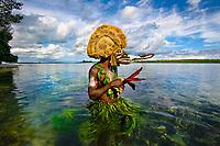 Malangan Mask in New Ireland, Papua New Guinea, 2010