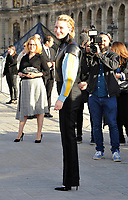 Octber 3 2017, PARIS FRANCE the Louis Vuitton Show at the Paris Fashion Week<br /> Spring Summer 2017/2018. Actress Cate Blanchett arrives at the show.