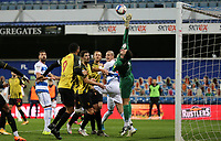 Ben Foster of Watford pushes the ball away during Queens Park Rangers vs Watford, Sky Bet EFL Championship Football at The Kiyan Prince Foundation Stadium on 21st November 2020