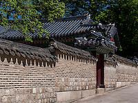 Arbeitsräume des Kronprinzes, Seongjeonggak, im Changdeokgung Palast, Seoul, Südkorea, Asien, UNESCO-Weltkulturerbe<br /> working quarter of crown prince in palace Changdeokgung,  Seoul, South Korea, Asia UNESCO world-heritage