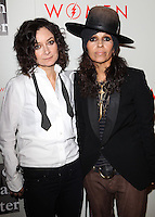 """BEVERLY HILLS, CA, USA - MAY 10: Sara Gilbert, Linda Perry at the """"An Evening With Women"""" 2014 Benefiting L.A. Gay & Lesbian Center held at the Beverly Hilton Hotel on May 10, 2014 in Beverly Hills, California, United States. (Photo by Celebrity Monitor)"""