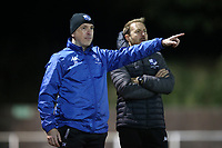 Wingate & Finchley manager Spencer Knight during Hornchurch vs Wingate & Finchley, Pitching In Isthmian League Premier Division Football at Hornchurch Stadium on 6th October 2020