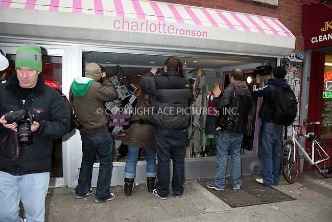 WWW.ACEPIXS.COM ** ** ** ....March 7 2008, New York City....Actress Lindsay Lohan, some friends and her DJ pal Samantha Ronson (not pictured) were out eating and shopping in Soho. She visited the clothes store belonging to Samantha Ronson's sister Charlotte Ronson in Nolita.......Please byline: Philip Vaughan -- ACEPIXS.COM.. *** ***  ..Ace Pictures, Inc:  ..tel: (646) 769 0430..e-mail: info@acepixs.com..web: http://www.acepixs.com