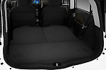 Trunk and cargo area of a 2012 Mitsubishi MiEV SE