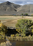 The Silver Saddle Ranch, along the Carson River, is seen Monday, Oct. 25, 2010, in Carson City, Nev..Photo by Cathleen Allison