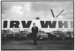 Irv White used cars, Los Angeles, CA. 1969