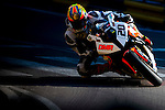Dan Cooper races the Macau Motorcycle Grand Prix during the 61st Macau Grand Prix on November 15, 2014 at Macau street circuit in Macau, China. Photo by Aitor Alcalde / Power Sport Images