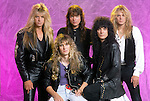 Various portrait sessions of the rock band, House of Lords.