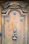 Exterior, Door, Mont Vieil Ami Restaurant, Paris, France, Europe