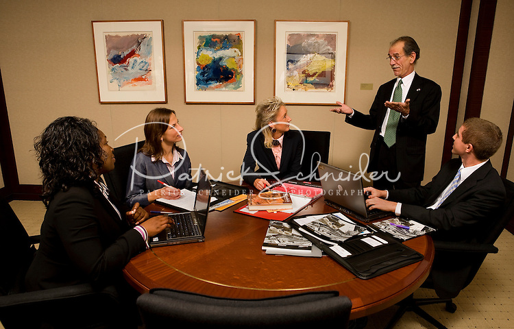 Stock photography of a modern corporate workforce. Models are model released.
