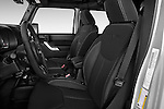 Front seat view of 2017 JEEP Wrangler-Unlimited Rubicon 5 Door SUV Front Seat  car photos