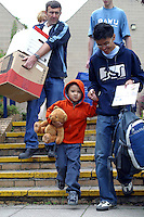 New students moving in, University of Surrey.
