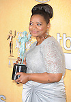 Octavia Spencer  attends the 18th Annual Screen Actors Guild Awards held at The Shrine Auditorium in Los Angeles, California on January 29,2012                                                                               © 2012 Hollywood Press Agency