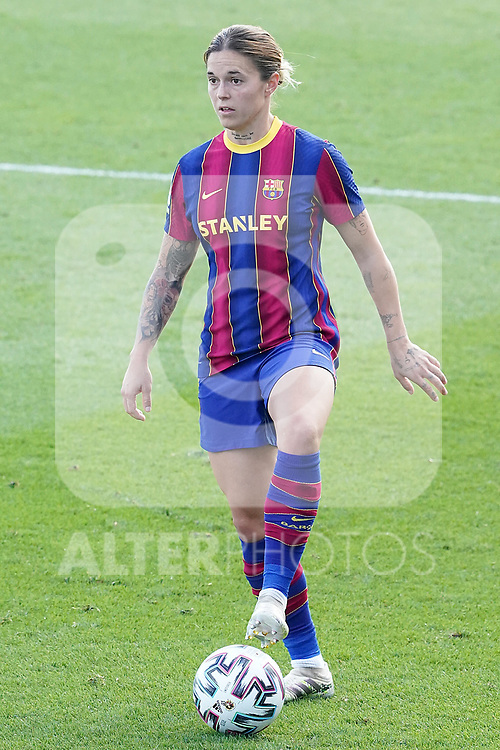 First official match and first classic in the history of women's Real Madrid.<br /> FC Barcelona's Mapi Leon during Spanish Female League match. October 4,2020. (ALTERPHOTOS/Acero)