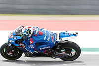 3rd October 2021; Austin, Texas, USA; Alex Rins (42) - (SPA)  on the 11th turn during the MotoGP Red Bull Grand Prix of the Americas on October 3, 2021 at the Circuit of the Americas