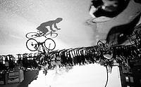 Frederik Veuchelen (BEL/Wanty-Groupe Gobert) & his shadow racing<br /> <br /> Kuurne-Brussel-Kuurne 2016