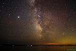 Milky Way in Sagittarius and Scorpius, from Friendship, Maine in July 2020. Brightest objects are Jupiter and Saturn.