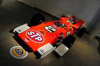 17-19  July, 2009, Birmingham, Alabama USA.Mario Andretti's 1969 Lotus Type 64 Indy Car, Barber Vintage Motorsports Museum..©2009 F.Peirce Williams, USA.