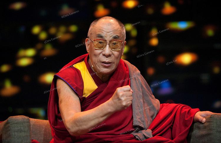 H.H. Dalai Lama speaks at We Day event Vancouver, Canada