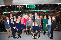 Februari 12, 2015, Netherlands, Rotterdam, Ahoy, ABN AMRO World Tennis Tournament, Management team<br /> Photo: Tennisimages/Henk Koster