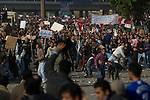 Remi OCHLIK/IP3 -  Cairo on february 02 - Chaos in Cairo as Mubarak backers, opponents clash.CAIRO - Several thousand supporters of President Hosni Mubarak, including some riding horses and camels and wielding whips, attacked anti-government protesters Wednesday as Egypt's upheaval took a dangerous new turn. In scenes of chaos and pitched fighting, the two sides pelted each other with stones, and protesters dragged attackers off their horses..The turmoil was the first significant violence between supporters of the two camps in more than a week of anti-government protests. It erupted after Mubarak went on national television the night before and rejected demands he step down immediately and said he would serve out the remaining seven months of his term. A military spokesman appeared on state TV Wednesday and asked the protesters to disperse so life in Egypt could get back to normal. The announcement could mark a major turn in the attitude of the army, which for the past two days has allowed protests to swell, reaching their largest size yet on Tuesday when a quarter-million peacefully packed into Cairo's central Tahrir Square. Nearly 10,000 protesters massed again in Tahrir on Wednesday morning, rejecting Mubarak's speech as too little too late and renewing their demands he leave immediately.