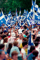 Celebrations de la fete nationale au parc maisonneuve, le 24 juin 1994<br /> <br /> PHOTO : Agence Quebec Presse - stephane Fournier