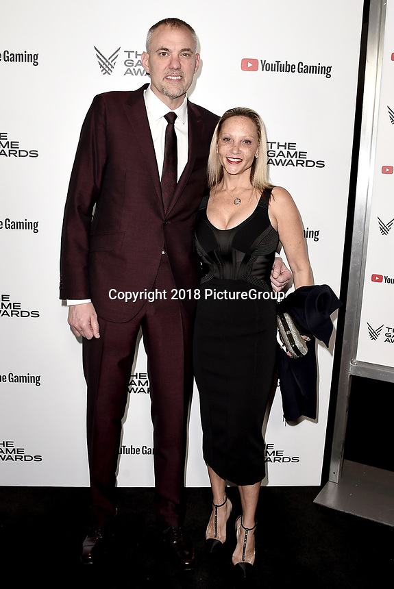 LOS ANGELES - DECEMBER 6: Greg Thomas and Cynthia Thomas attend the 2018 Game Awards at the Microsoft Theater on December 6, 2018 in Los Angeles, California. (Photo by Scott Kirkland/PictureGroup)