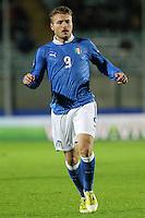 """Ciro Immobile.Siena 13/11/2012 Stadio """"Franchi"""".Football Calcio Nazionale U21.Italia v Spagna.Foto Insidefoto Paolo Nucci."""