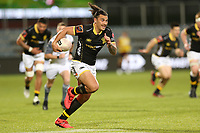Action from the Mitre 10 Cup rugby match between Wellington Lions and Canterbury at Orangetheory Stadium in Christchurch, New Zealand on Saturday, 3 October 2020. Photo:Martin Hunter / lintottphoto.co.nz
