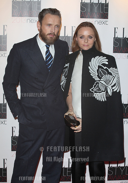 Stella McCartney and husband arriving at the 2013 Elle Style Awards, at The Savoy, London. 11/02/2013 Picture by: Alexandra Glen / Featureflash