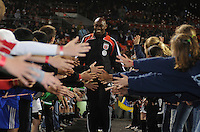 DC United goalkeeper Louis Crayton (27) At the presentation of the team, Chicago Fire tied DC United 1-1 at  RFK Stadium, Saturday March 28, 2009.