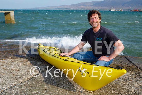 John Edwards of Wild Water Adventures in Fenit getting ready for the reopening of outdoor activities.