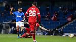 25.02.2021 Rangers v Royal Antwerp: Alfredo Morelos scores for Rangers