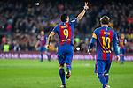FC Barcelona's Luis Suarez, Leo Messi   during spanish La Liga match between Futbol Club Barcelona and Real Madrid  at Camp Nou Stadium in Barcelona , Spain. Decembe r03, 2016. (ALTERPHOTOS/Rodrigo Jimenez)