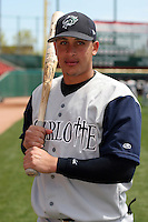 Charlotte Knights Pedro Lopez during an International League game at Dunn Tire Park on April 30, 2006 in Buffalo, New York.  (Mike Janes/Four Seam Images)