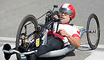 MILTON, ON, AUGUST 13, 2015. Cycling time trials, including Canadian Mark Ledo (H4M).<br /> Photo: Dan Galbraith/Canadian Paralympic Committee