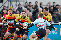 Louis Molloy of Richmond Rugby during the English National League match between Richmond and Blackheath  at Richmond Athletic Ground, Richmond, United Kingdom on 4 January 2020. Photo by Carlton Myrie.