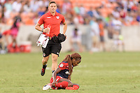Houston, TX - Sunday Oct. 09, 2016: Francisca Ordega during the National Women's Soccer League (NWSL) Championship match between the Washington Spirit and the Western New York Flash at BBVA Compass Stadium. The Western New York Flash win 3-2 on penalty kicks after playing to a 2-2 tie.
