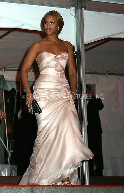 WWW.ACEPIXS.COM . . . . .....May 5, 2008. New York City.....Beyonce Knowles leaving the 'Superheroes: Fashion and Fantasy' Costume Institute Gala at The Metropolitan Museum of Art...  ....Please byline: NANCY RIVERA - ACEPIXS.COM.. *** ***..Ace Pictures, Inc:  ..Philip Vaughan (646) 769 0430..e-mail: info@acepixs.com..web: http://www.acepixs.com
