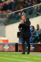 30th September 2021; Marshall Józef Piłsudski's Municipal Stadium, Warsaw, Poland: Europa League fooball, Legia Warsaw versus Leicester City; Leicester manager BRENDAN RODGERS