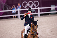 GBR-Ben Maher and Explosion take the Gold Medal for the Jumping Individual. Tokyo 2020 Olympic Games. Wednesday 4 August 2021. Copyright Photo: Libby Law Photography