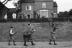 Abbots Bromley Horn Dance. Abbots Bromley, Staffordshire, England 1973.