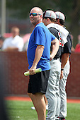 Billy Ripken during practice for the Under Armour All-American Game at Les Miller Field on August 13, 2010 in Chicago, Illinois.  (Copyright Mike Janes Photography)