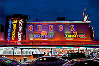 Geno's Steaks, South Philly, Philadelphia, PA, USA