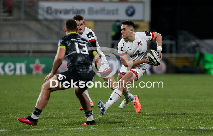 2nd January 2021   Ulster vs Munster <br /> <br /> James Hume during the PRO14 Round 10 clash between Ulster Rugby and Munster Rugby at the Kingspan Stadium, Ravenhill Park, Belfast, Northern Ireland. Photo by John Dickson/Dicksondigital