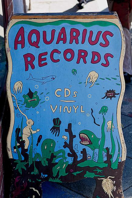 Aquarius Records, Valencia Street, San Francisco, California