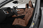 Front seat view of a 2019 Volvo S90 Inscription PHEV T8 AWD 4 Door Sedan front seat car photos